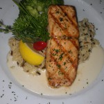"Gegrillter Lachs ""Riesling"""
